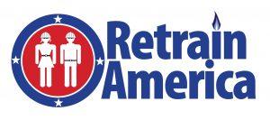 Retrain America Logo